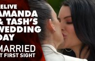 Amanda and Tash's wedding || Married at First Sight